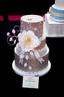 Cake International Amazing Wedding Cakes Entries at Alexandra Palace 2181