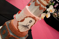 Cake International Amazing Wedding Cakes Entries at Alexandra Palace 2238